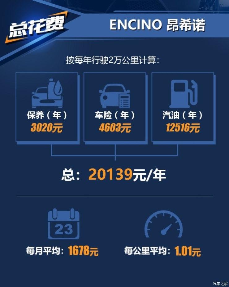 北京现代 ENCINO 昂希诺 2018款 1.6T 双离合致联版