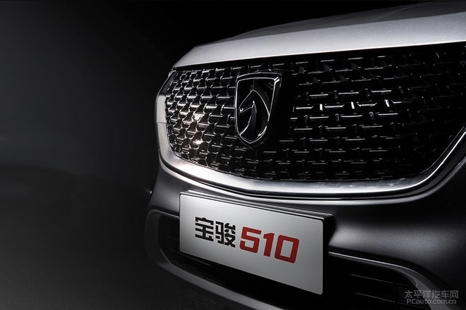 外观调整 新款宝骏510将于10月12日上市