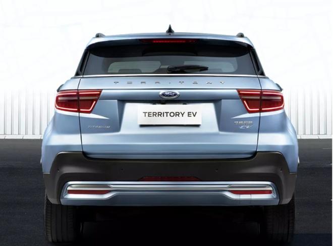 福特领界EV官图曝光,下半年正式上市