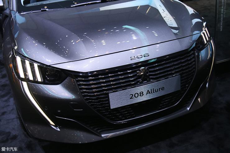 2019日内瓦车展;全新标致208;标致;208