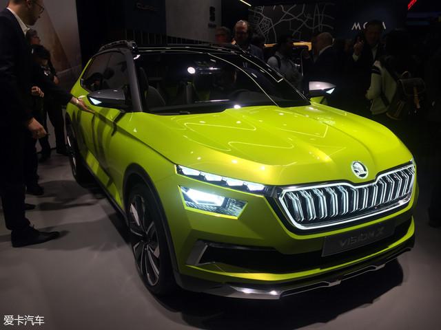 日内瓦车展:斯柯达VISION X概念车首发