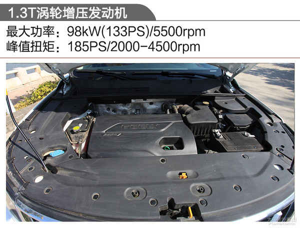 更重内在修炼 测试吉利远景SUV 1.3T CVT