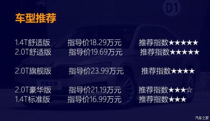 上汽斯柯达 速派 2019款 TSI330 DSG舒适版