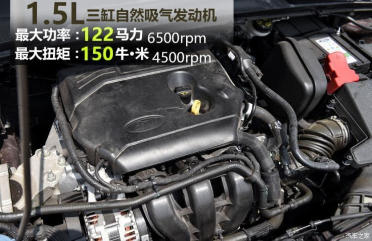 长安福特 福睿斯 2019款 1.5L 自动悦享型