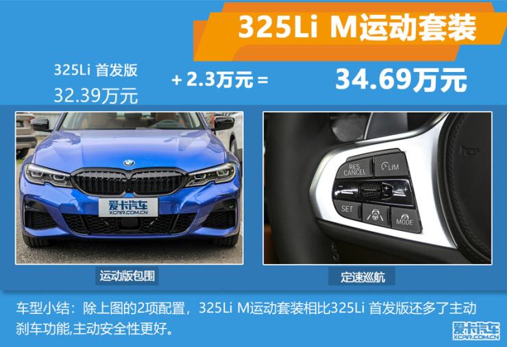 全新宝马3系推荐车型