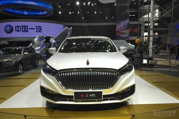 2017上海车展探馆:红旗全新H5实车曝光