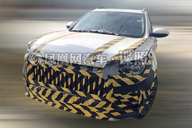 猎豹全新SUV车型谍照曝光 定位高于CS10