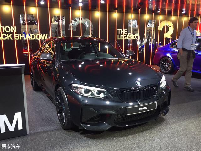 日内瓦车展:宝马M2 Coupe Black Shadow