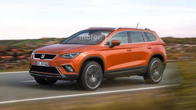 西雅特推出7座SUV  10月15日前发布