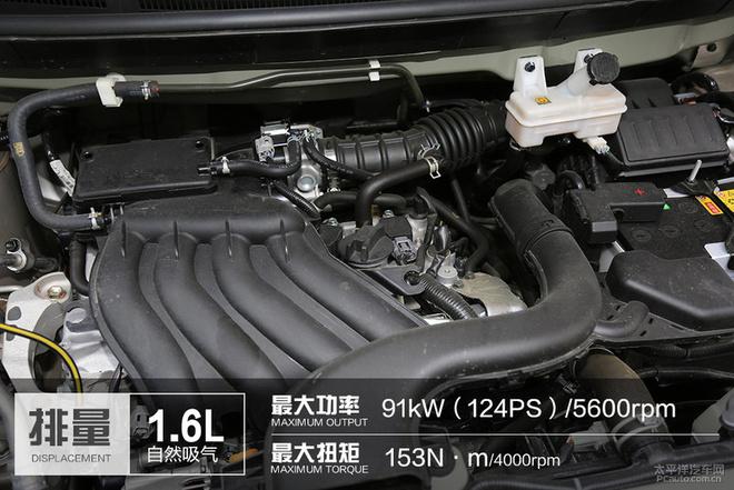 平顺性是优势 测试启辰M50V 1.6L CVT