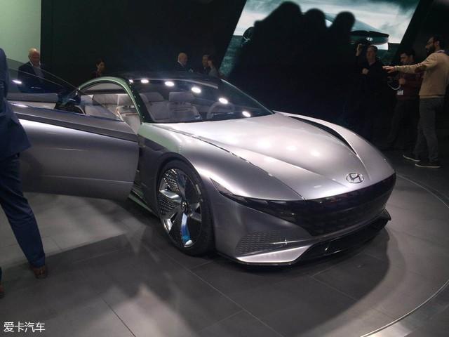 2018日内瓦车展:现代Le Fil Rouge发布