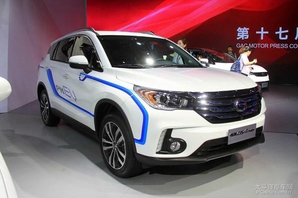 广汽传祺GS4 PHEV或将于5月20日正式上市