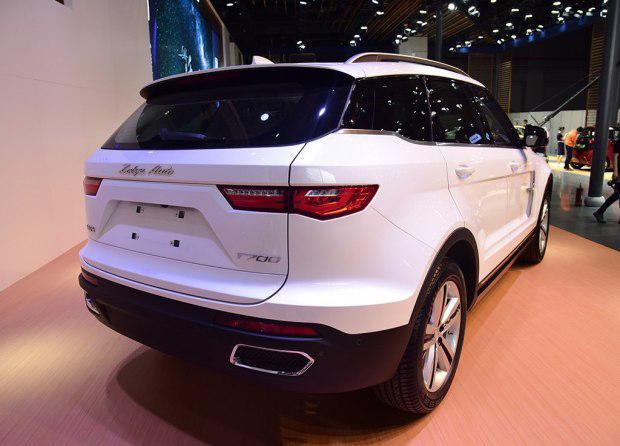 全新众泰T700上海车展正式亮相