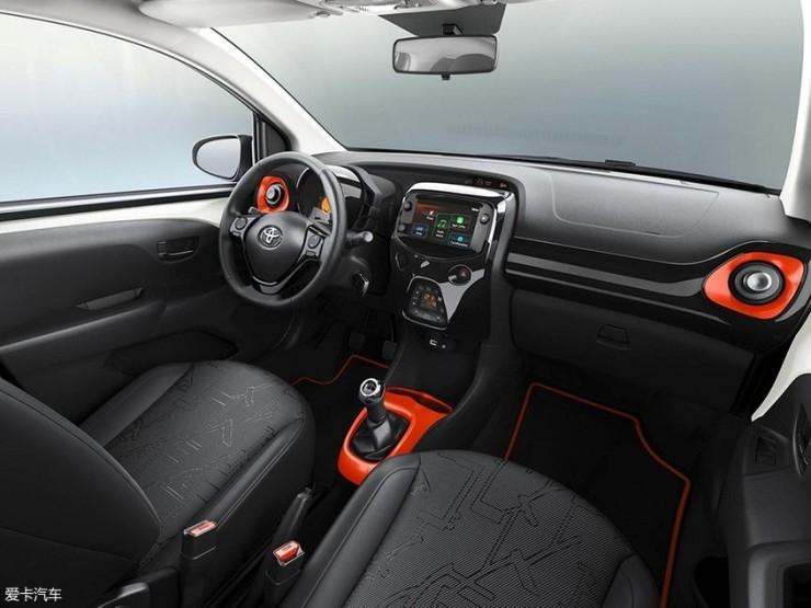 丰田Aygo特别版官图 将日内瓦车展亮相