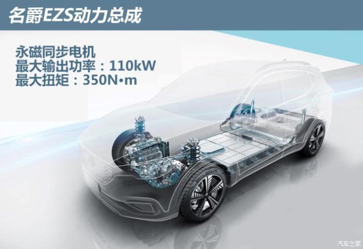 上汽集团 名爵EZS纯电动 2019款 E-Lite版