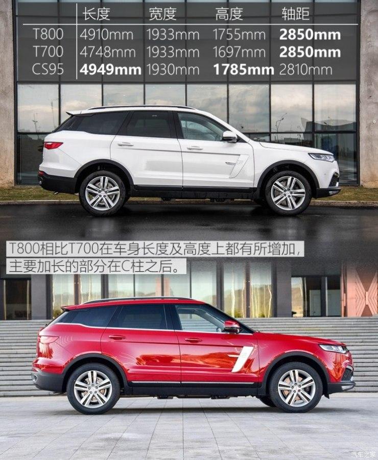 众泰汽车 众泰T800 2018款 2.0T 自动旗舰型