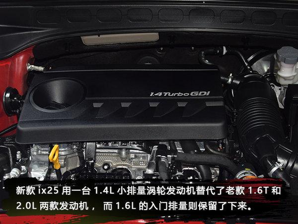 """一次""""大家来找茬""""的改款 实拍新款现代ix25-图10"""