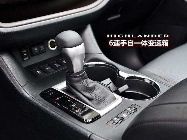 广汽丰田 汉兰达 2018款 2.0T 四驱至尊版 7座