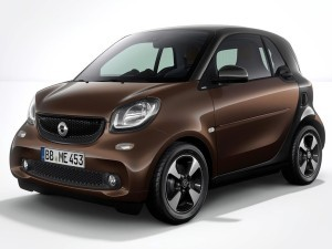 smart smart fortwo 2017款 15th Anniversary