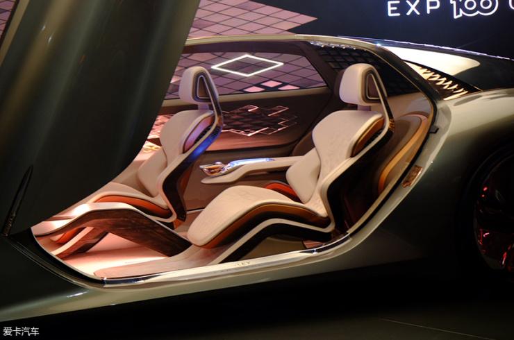 宾利EXP 100 GT概念车亮相 极致的奢华