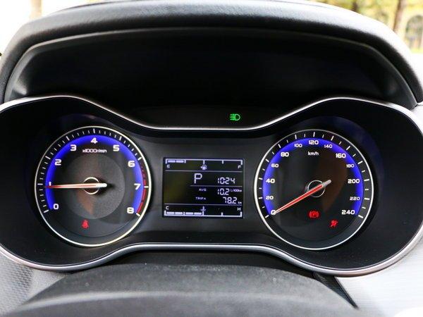 吉利汽车  1.5L 仪表盘