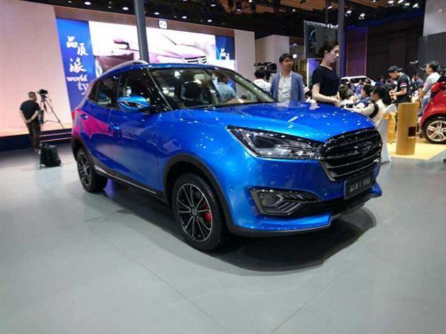 众泰新SUV T300或7月上市 将与奔腾X40竞争