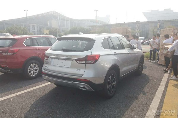 推多款SUV 汉腾X7三擎混动版明年上市