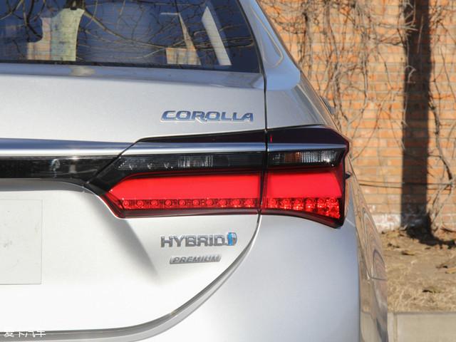 一汽丰田2016款卡罗拉 双擎