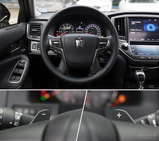 告别V6发动机 实拍2018款一汽丰田皇冠