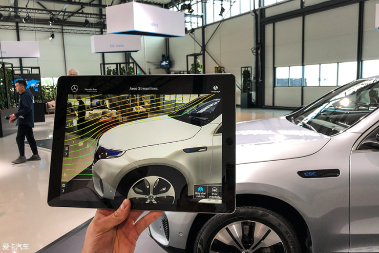 奔驰;EQC;空气动力学设计;纯电SUV