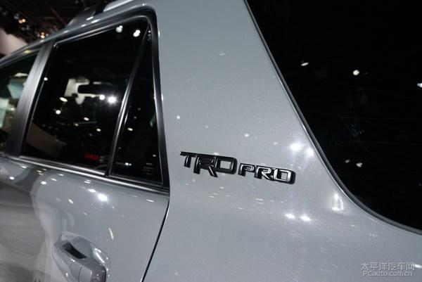新款丰田4Runner正式亮相 年内海外上市