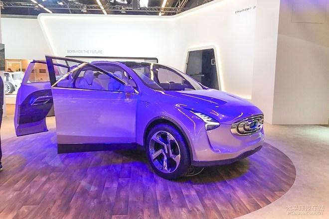 2017法兰克福车展:昶洧首款SUV发布