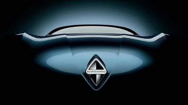或亮相法兰克福 宝沃全新概念车预告图曝光