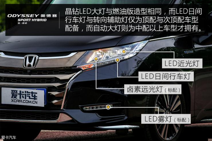 广汽本田奥德赛锐·混动外观