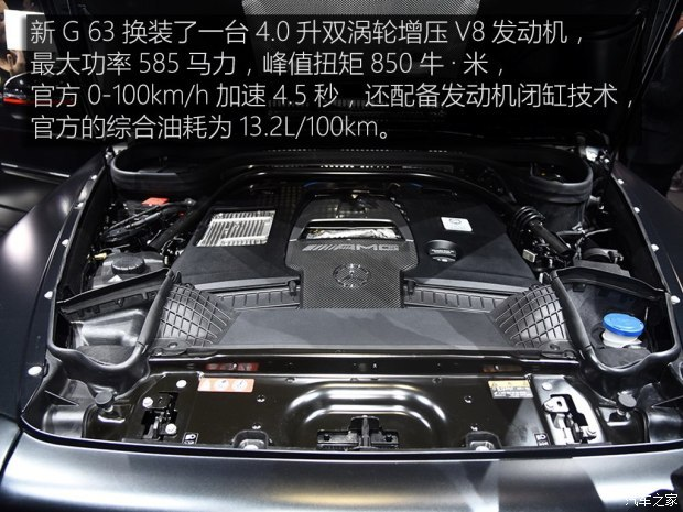 梅赛德斯-AMG 奔驰G级AMG 2019款 AMG G 63 Edition 1