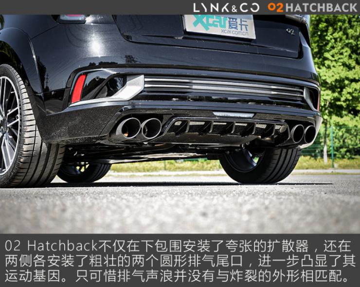 领克02 Hatchback全面测试 - 外观
