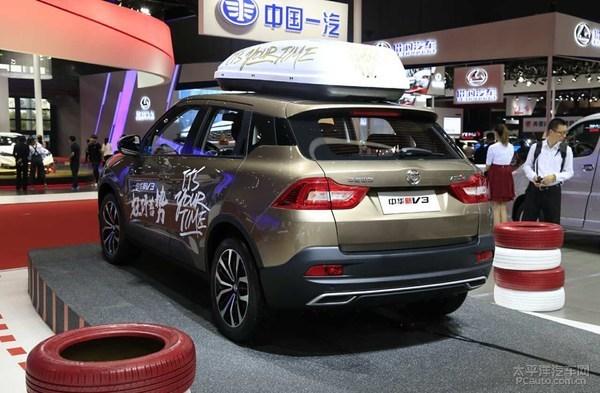 2017上海车展:华晨中华新款V3正式发布