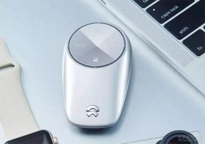 蔚来ES8智能感应钥匙发布
