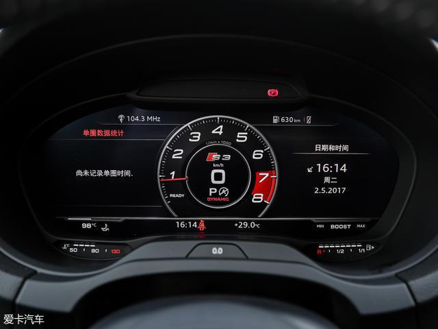 奥迪(进口)2017款奥迪S3三厢