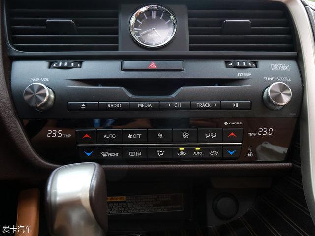 雷克萨斯RX450h;爱卡新能源评测