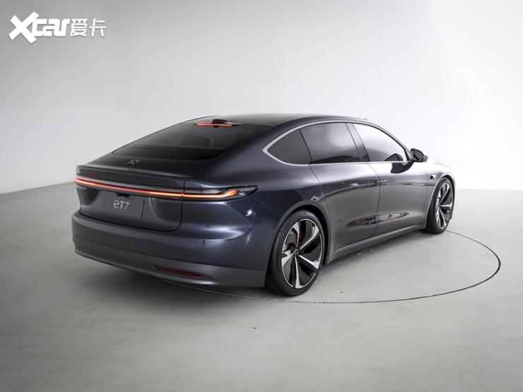 2021年上海车展:蔚来ET7实车内饰发布