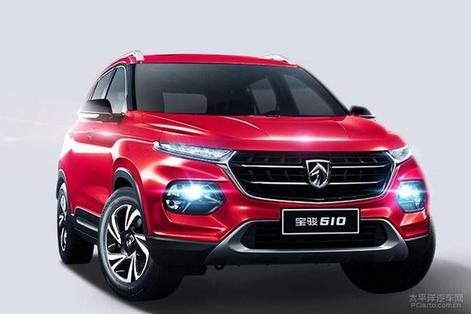 宝骏510自动挡SUV开启预订 6.88-7.58万元