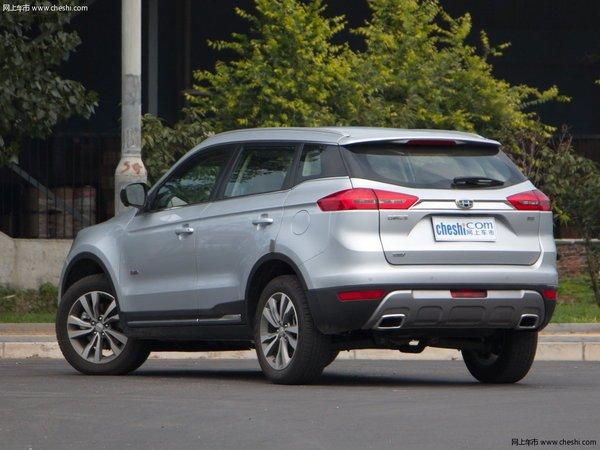 今年回家倍有面 三款中国品牌高颜值SUV推荐-图3