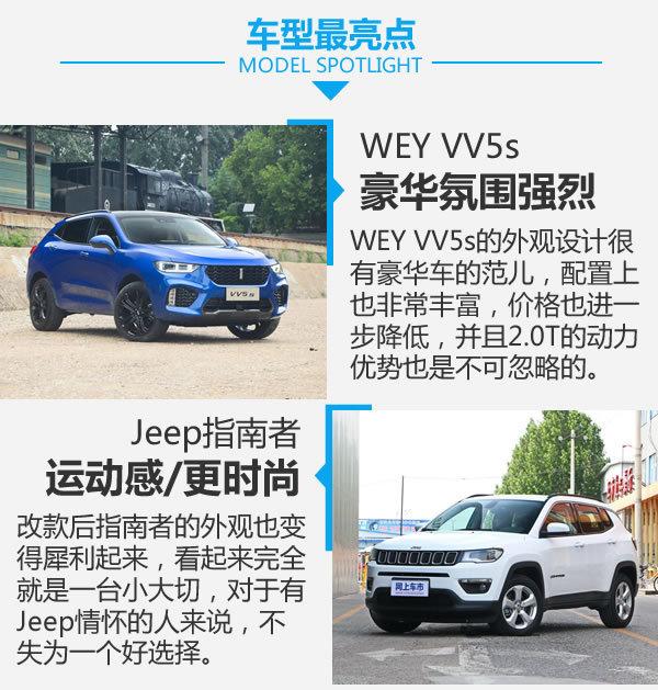 吉普和Jeep的内战 WEY VV5s对比Jeep指南者-图8