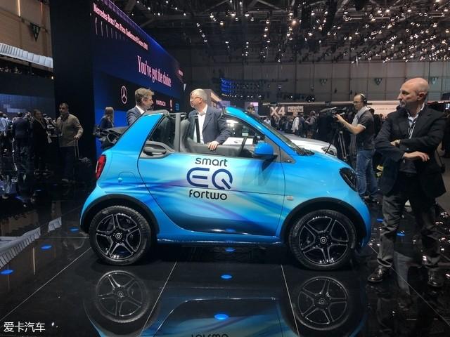 2018日内瓦车展:smart EQ forfour发布