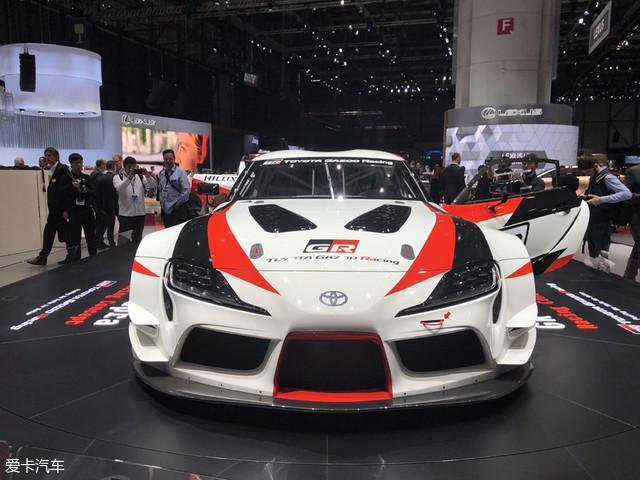 2018日内瓦车展 丰田全新Supra正式亮相