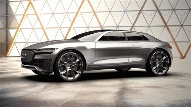 奥迪Q4 E-Tron概念车假想图  2019年或量产