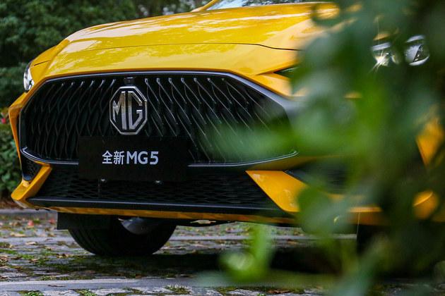 爱不释手的运动型轿车 全新MG5试驾体验