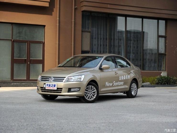 上汽大众 桑塔纳 2013款 1.6L 自动豪华版