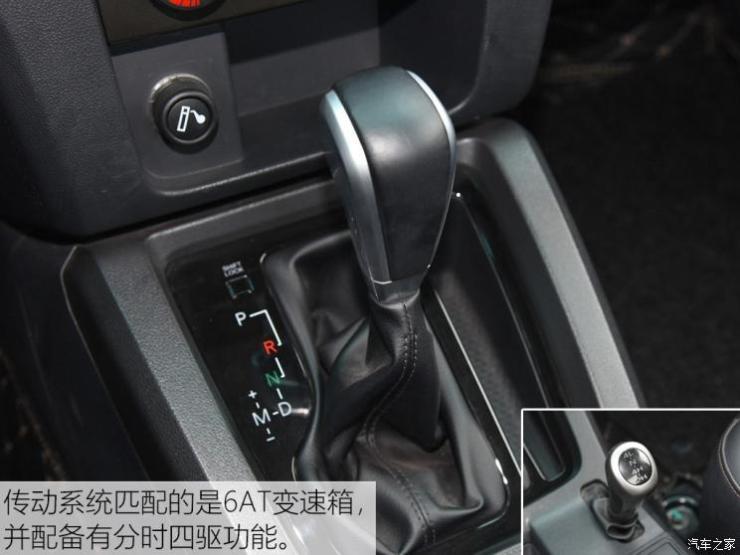 北京汽车 北京BJ40皮卡 2016款 基本型